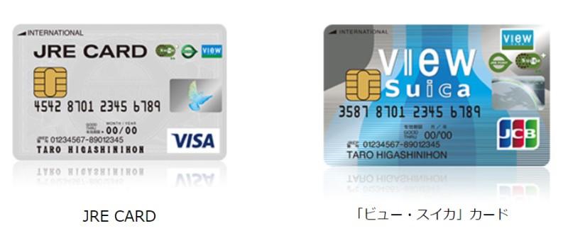 JR系のクレジットカード